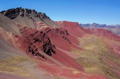 The Rainbow Mountains in Peru very Amazing | Geology IN