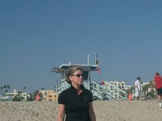 beach in Santa Monica USA
