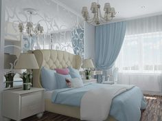 47 ideas bedroom diy adult apartments for 2019 Bedroom Colors, Bedroom Decor, Bedroom Ideas, Bedroom Layouts, Trendy Bedroom, Luxurious Bedrooms, Beautiful Bedrooms, Apartment Design, Interior Design Living Room