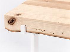 firewood log side tables by vyrobeno lesem