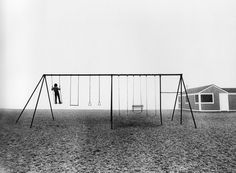 I wish I had someone to play with. This is a great swing set meant to be shared.