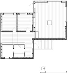 Small Cabin - Kolman Boye Architects - Vega Norway - Floor Plan - Humble Homes