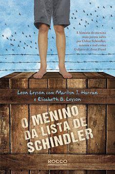 """Livro: O menino da lista de Schindler - O livro """"O menino da lista de Schindle"""", tornou-se um dos meus favoritos com este tema, pois além de conter uma linda história de sobrevivência mostra mais um pouco do herói e dos feitos de Schindler. #book #livro #omeninodalistadeSchindler"""