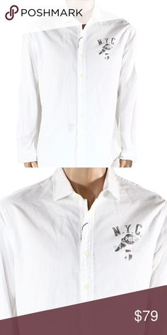 Polo Ralph Lauren-White M Button Down Shirt $145 Brand: Polo Ralph Lauren  Color: White  Condition: New without Tags  Product Details:  Color: Whites Price:$145.00 Size Type: Regular Size (Men's): M Sleeve Length: Long Sleeve Style: Button-Front Fit: Classic Fit Material: Cotton Blends  ITEM#1619 Polo by Ralph Lauren Shirts Casual Button Down Shirts