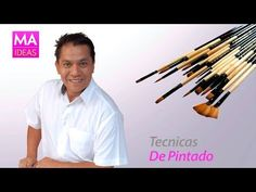 DIY - Pincelada / One stroke painting by Miguel Rincón (2/3) - YouTube