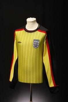 England Football Shirt (Goalkeeper)