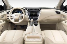 nissan murano interior   2015 Nissan Murano Interior
