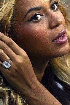Beyonce's engagement ring: See which other celebrities have the most stunning emerald cut diamond engagement rings