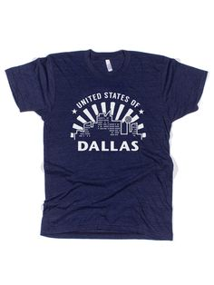 United State of Dallas #dallas #bullzerk #tshirt (size L) - happy with Bullzerk gift cards