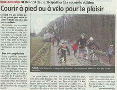 24/01/2017 Echo Républicain 2eme Bike & Run de #Vernouillet