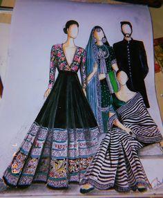 Dress Design Sketches, Fashion Design Sketchbook, Fashion Design Drawings, Fashion Sketches, Fashion Drawing Dresses, Fashion Illustration Dresses, Fashion Dresses, Dresses Dresses, Fashion Illustrations