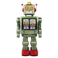 grote wandelende robot grijs