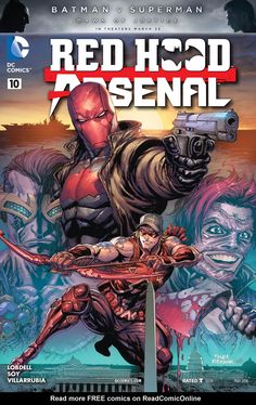 Red Hood/Arsenal Issue #10 by Tyler Kirkham