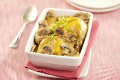 Risotto poulet champignons maggi