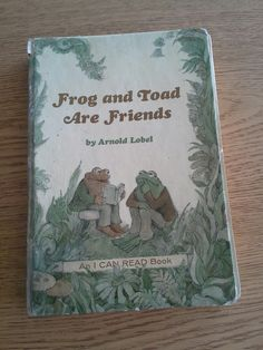 Frog and Toad Are Friends 1970. Favorite book as a kid. and i was born in the 90s!!