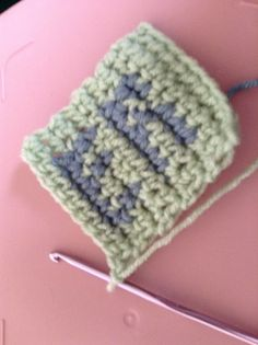 how to follow a chart for tapestry crochet