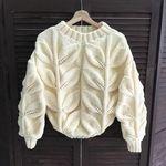Мобильный LiveInternet пуловер с крупными листьями | olgasav - Дневник olgasav |