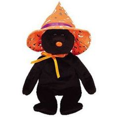 TY Beanie Baby - POCUS the Halloween Bear (BBOM October 2005) (8.5 inch)