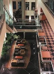 delta vancouver suites hotel lobby, hotel is located in downtown Vancouver Downtown Vancouver, Sight & Sound, Hotel Lobby, Stairs, Ladders, Stairway, Staircases, Stairways