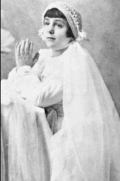 "Antonnieta Meo ""Nennolina"" 1930-1937, Rome May be the youngest person to be assigned as Confessor of the Catholic Church."