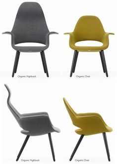 eames organic chair - Google Search