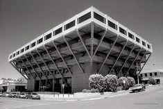 "the ""upside down"" building, Geelong AUS. 1978-9."