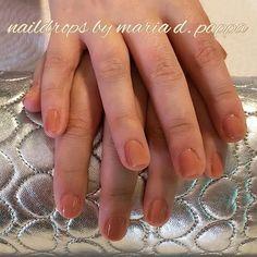 #manicure #nudenails