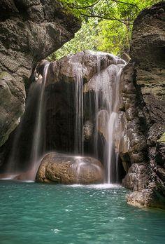 Jamaican Waterfall