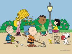 Anche i Peanuts sostengono l'ambiente!