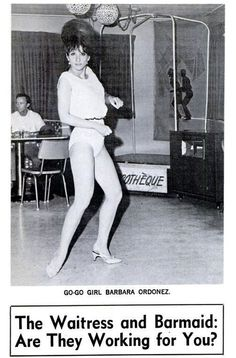 Go-Go Girl Barbara Ordonez