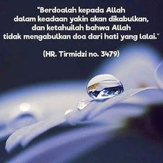 """Allah berfirman """"Ud'uni astajiblakum"""" (berdoalah padaKu pasti akan Aku kabulkan) http://ift.tt/2f12zSN"""