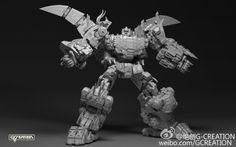 Gcreations Dinobot Combiner prototype