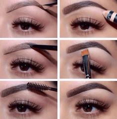 It's all about the perfect brow, ladies. Don't forget the importance of arch!