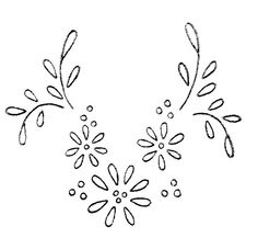Hand Embroidery Patterns Flowers, Hand Embroidery Videos, Simple Embroidery, Hand Embroidery Stitches, Hand Embroidery Designs, Vintage Embroidery, Ribbon Embroidery, Lino Prints, Block Prints