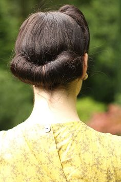 I think it's crazy how most people don't really know what VICTORY rolls are. They are not rolls ANYWHERE on the head, they are traditionally at the BACK and usually two, made with a rat, and began in the 40s when war heroes returned to their wives it was a hair-do designed to be a GIFT to them by their ladies. Rolls anywhere else are either up-sweeps or just ROLLS. Don't get it wrong.