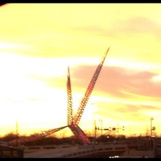 Sunset in OKC