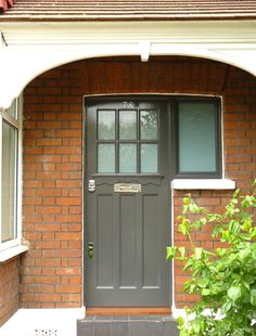London Doors Front Door Twenties Door & 1920s front door | Bespoke wooden 1920s style front entrance doors ... Pezcame.Com