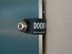 Such an awesome solution for preventing distracting door sounds in class!! DOOR BLOK open & Lock Down Drills and Procedures in the Art Room | Doors School and ...