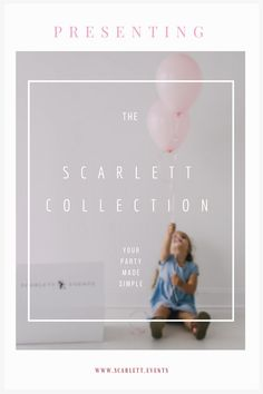 Check out Scarlett Events Party Kits Birthday Themes For Boys, First Birthday Decorations, First Birthday Invitations, Girl First Birthday, First Birthday Parties, Birthday Party Themes, Party In A Box, Party Planning, Events