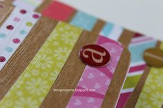 being mom{me}: Mod Podge fun {pretty little notepads}