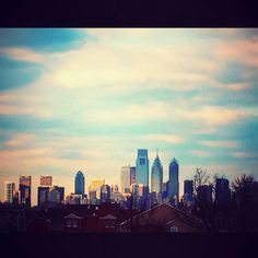 Philadelphia. Can see Comcast Building!