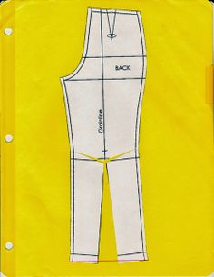Cation Designs: Pants Pattern Alterations - good descriptions and illustrations