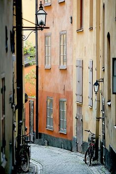 Old Town, Stockholm, Sweden --- Gamla stan, Stockholm (by Helena Normark) Places To Travel, Places To See, Places Around The World, Around The Worlds, Sweden Places To Visit, Sweden Travel, Sweden Europe, Scandinavian Countries, Voyage Europe