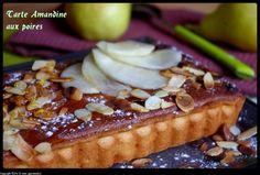 Tarte amandine aux poires : la recette facile