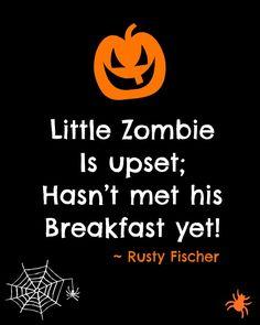 Little Zombie... A Halloween poem