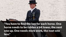 Isabell Worth quote about understanding horses | 6 Quotes From the World's Greatest Dressage Riders