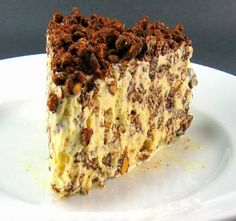 One Perfect Bite: Ice Cream Crunch Cake - Original recipe for the Nutella Ice Cream cake.  which is best.  I'll let you know.
