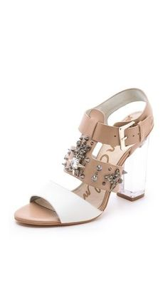493844d0f7d4 Lucite Heels are where it s at - Sam Edelman Sandals