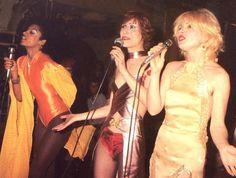 Debbie Harry with the Stilettos. 1973