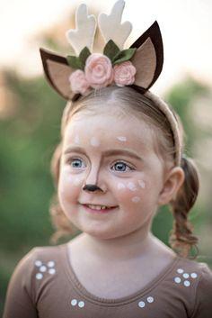 Deer Costume Toddler Halloween Costume Girls Doe Costume